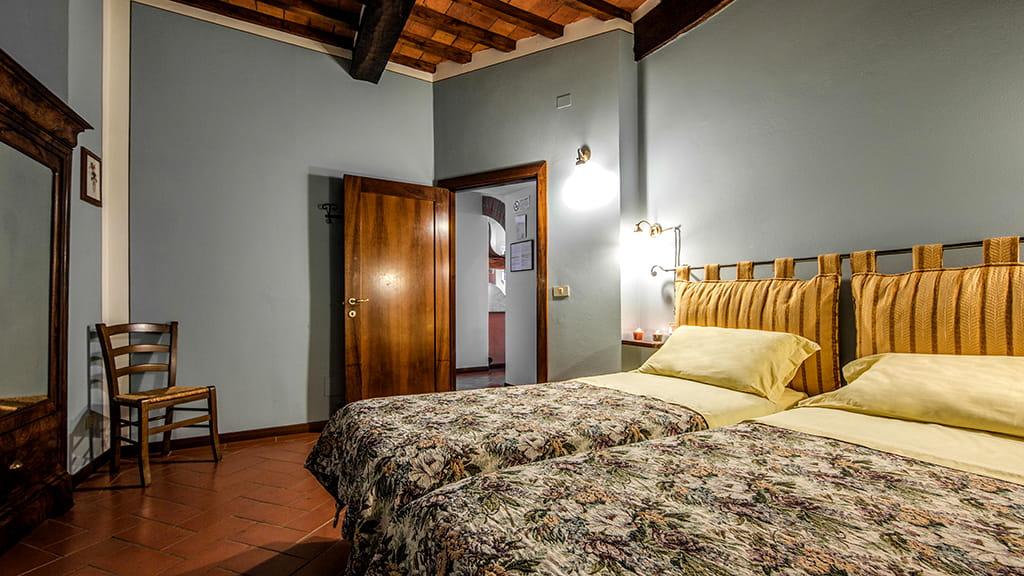 Villa La Guardata Schlafzimmer