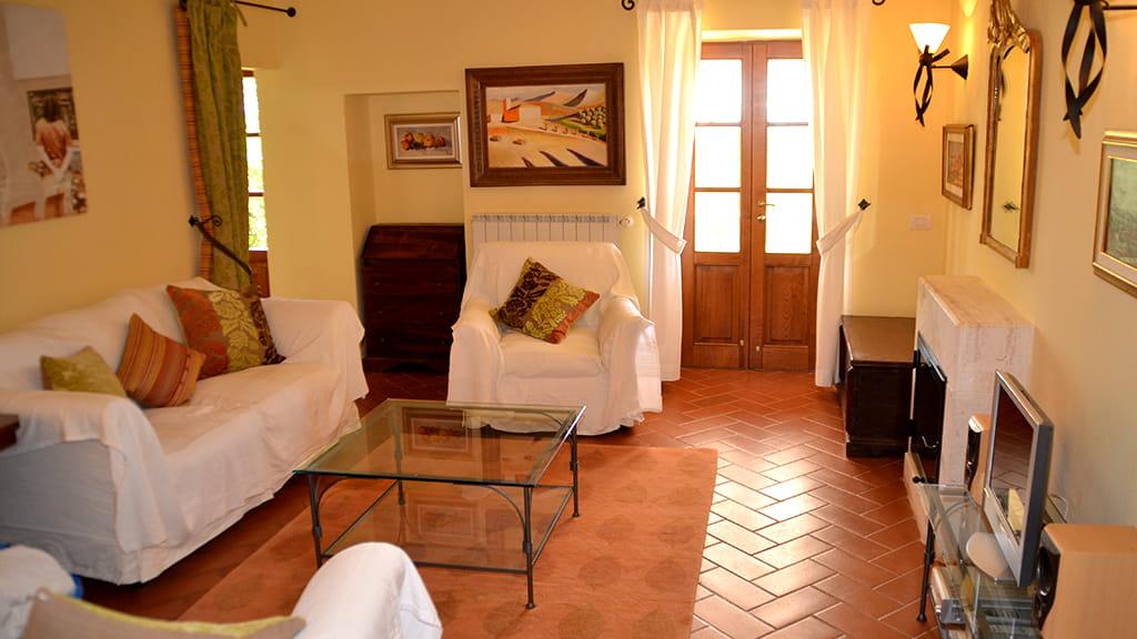 Villa Lupinaio Wohnbereich