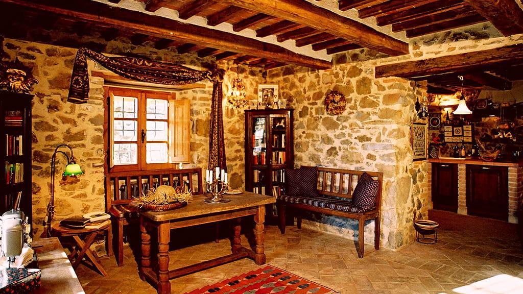 Villa Maremma Essbereich