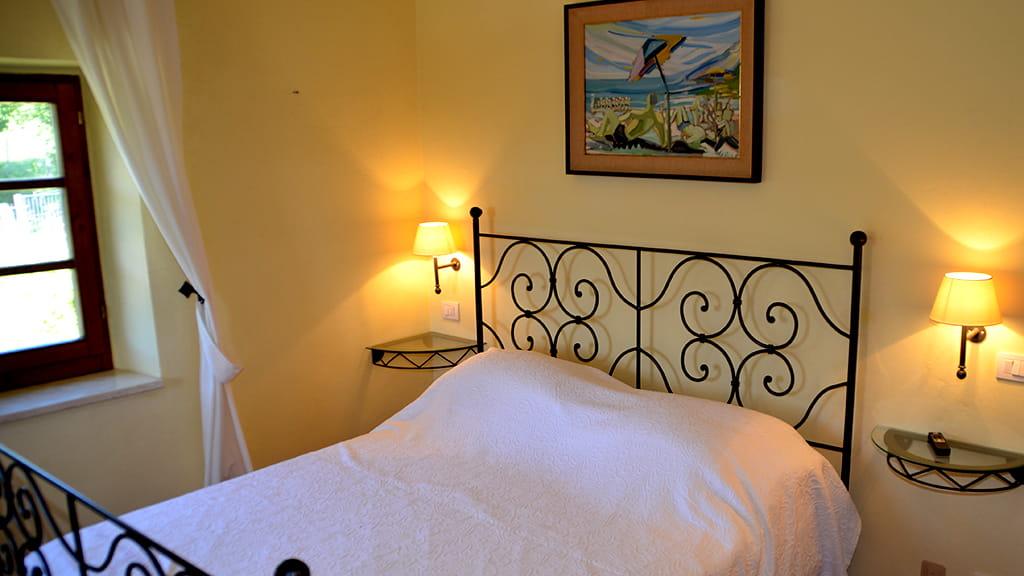 Villa Maremma Schlafzimmer