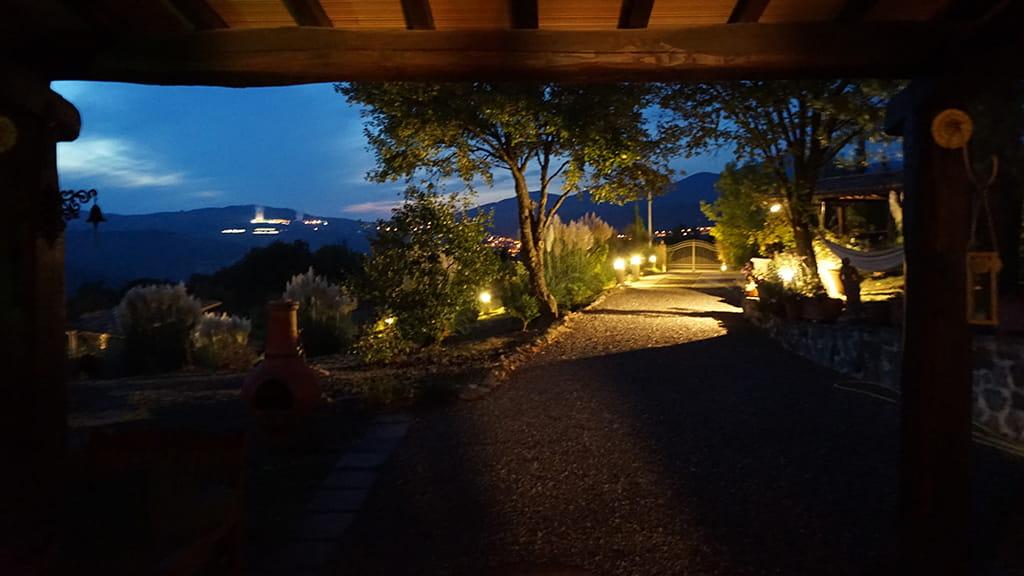 Villa Maremma Toscana Bei Nacht