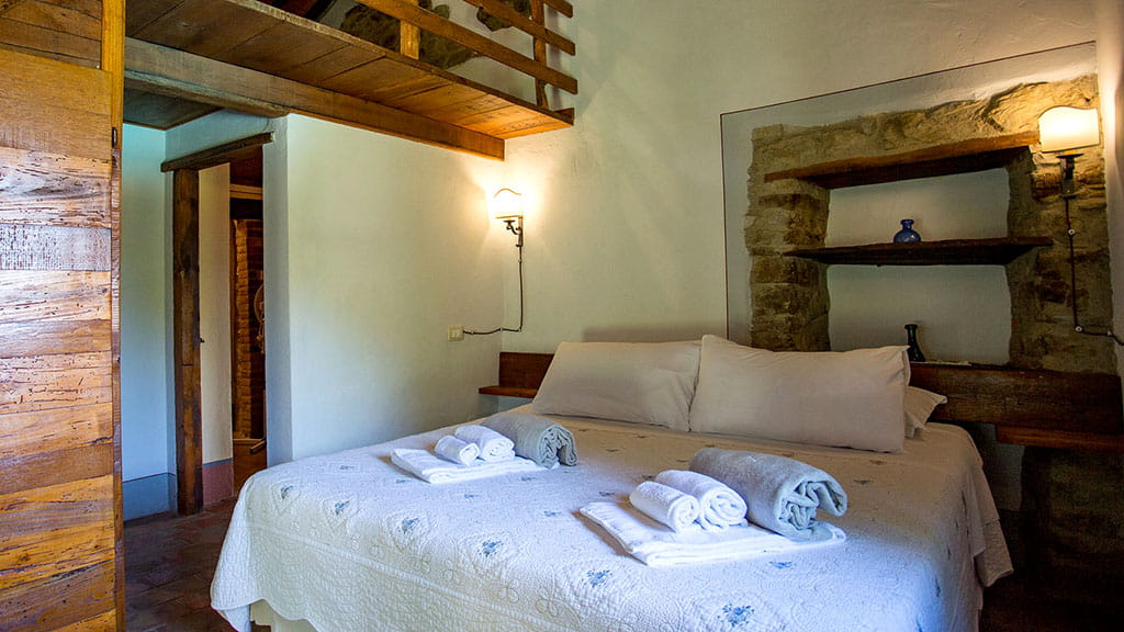 Villa San Martino Schlafzimmer