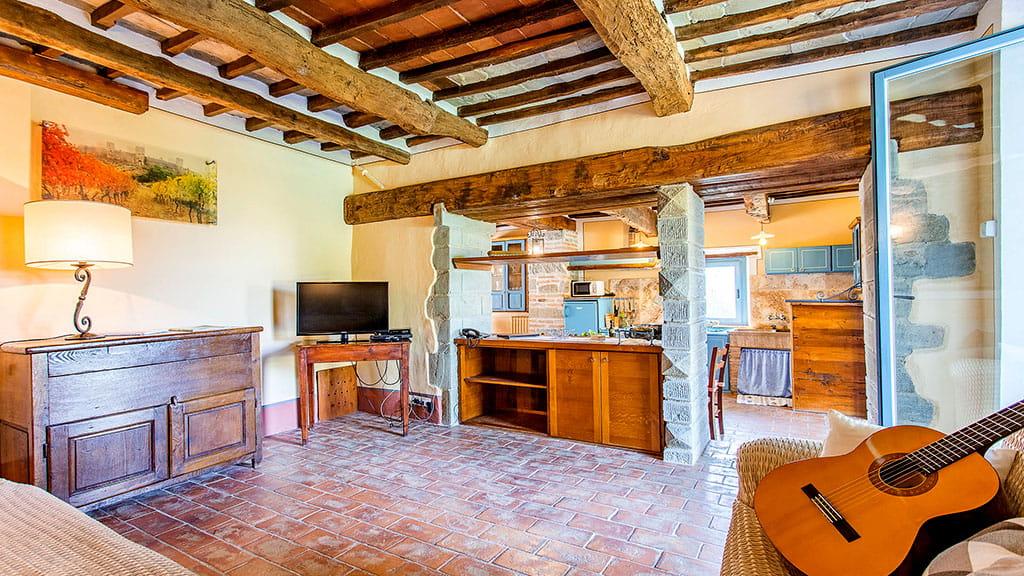 Villa San Martino Wohnbereich