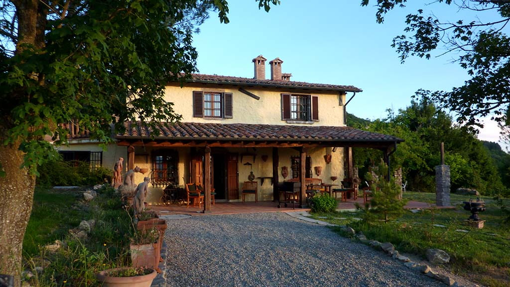 Villa Santa Fiora Toskana