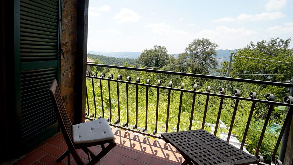 Villa Toskana Ausblick