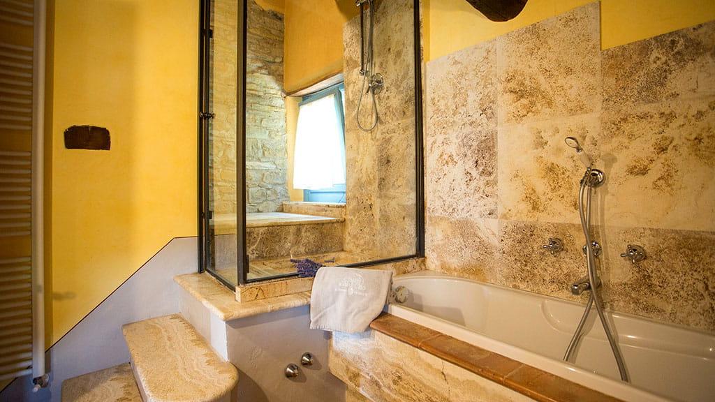 Villa Toskana Traum Badezimmer