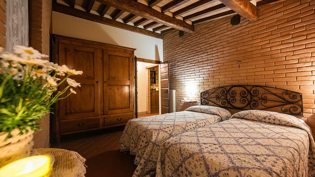 Borgo San Stefano Schlafbereich