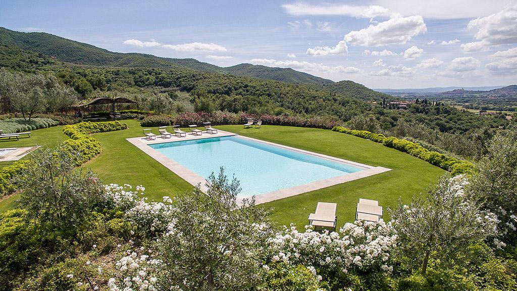 Ferienhäuser Mit Großem Pool Toskana