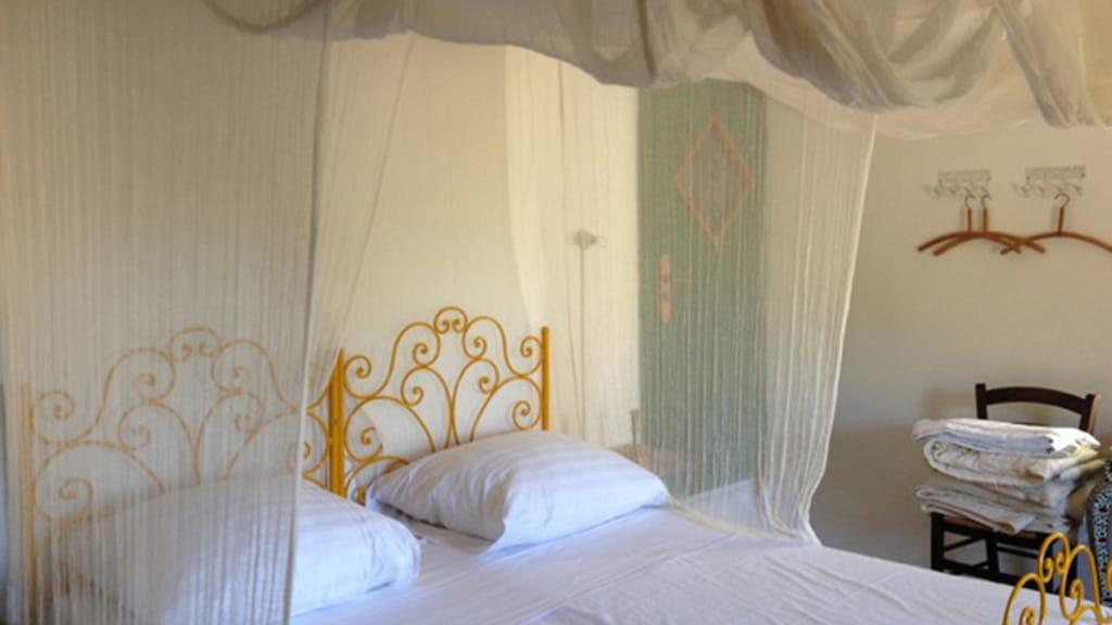 Ferienhaus Elmo Di Sorano Schlafzimmer