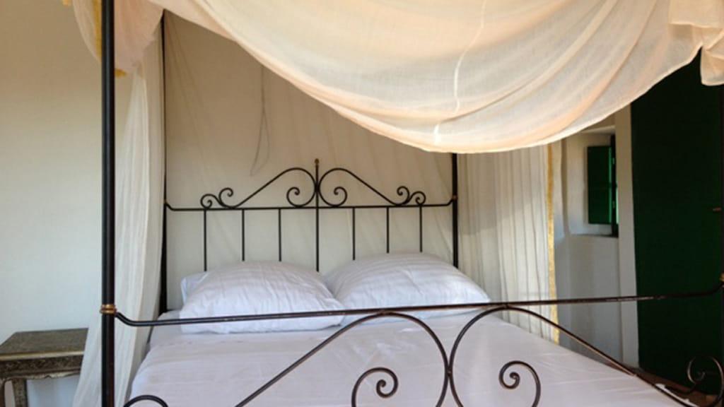 Ferienhaus Roggiai Schlafzimmer