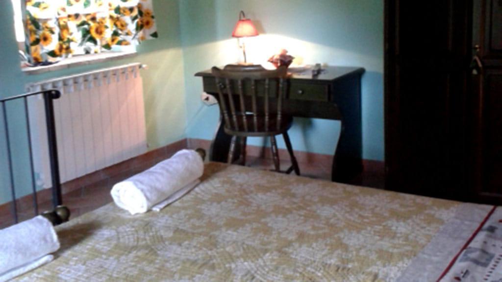 Ferienwohnung Cantinacci Verde Schlafzimmer