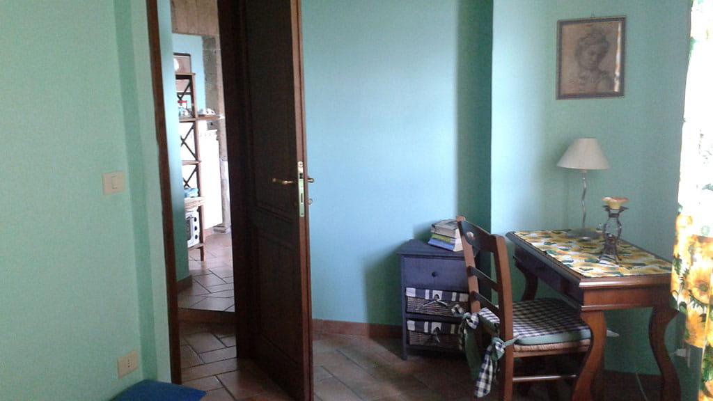Ferienwohnung Cantinaccia Verde Wohnbereich