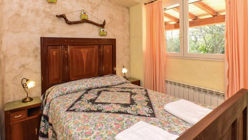 Ferienwohnung Gufo Schlafzimmer