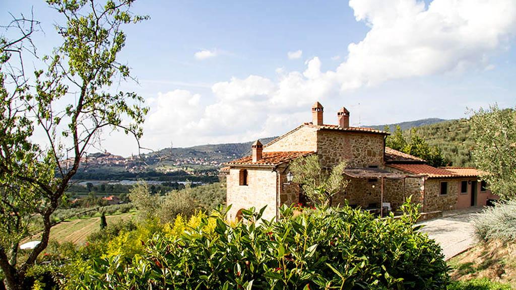 Ferienwohnung La Guardata Toskana