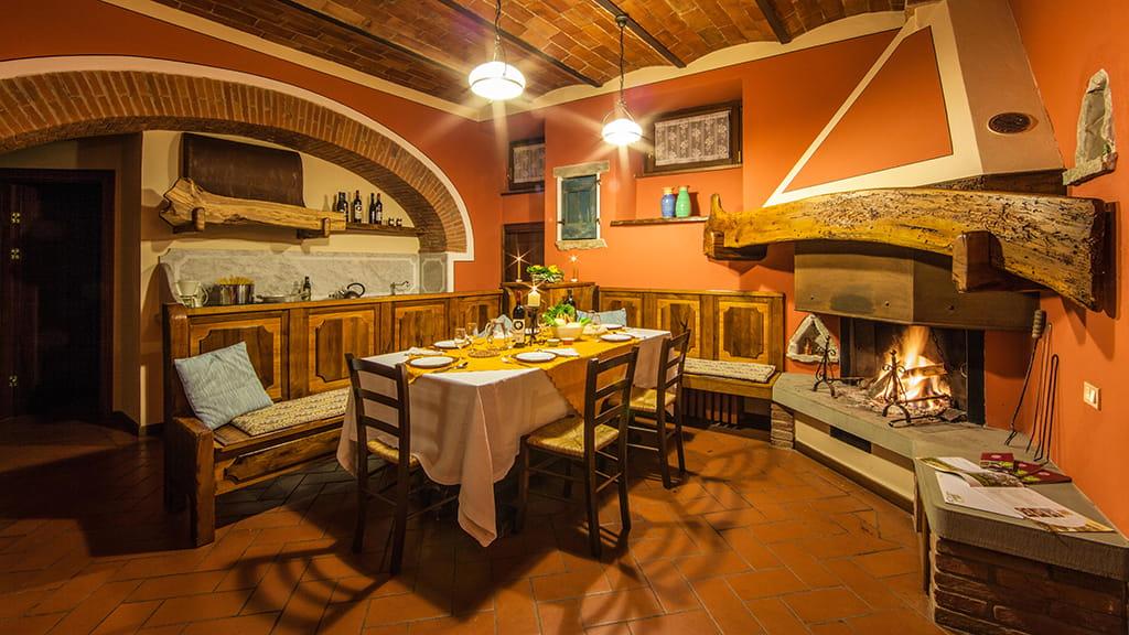 Ferienwohnung La Guardata Uno Wohnbereich