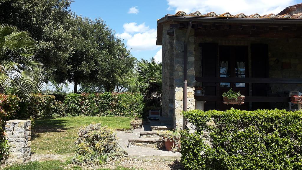 Ferienwohnung Marrucheti 4 Garten