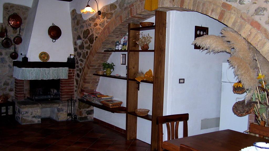 Ferienwohnung Marrucheti Tre Wohnbereich