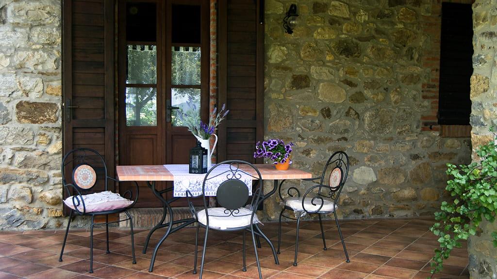 Ferienwohnung Terrasse Marrucheti Uno