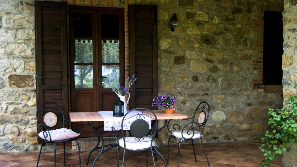 Ferienwohnung Terrasse Toskana