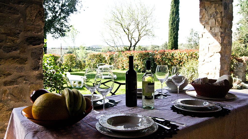 Ferienwohnung Toskana Toller Außenbereich