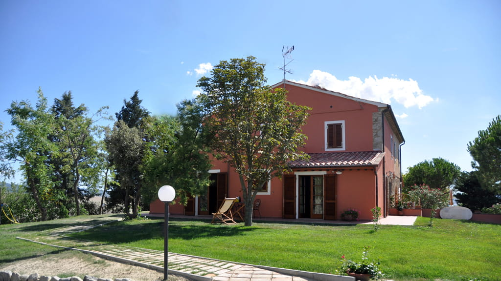 Ferienwohnungen Santa Luce Toskana