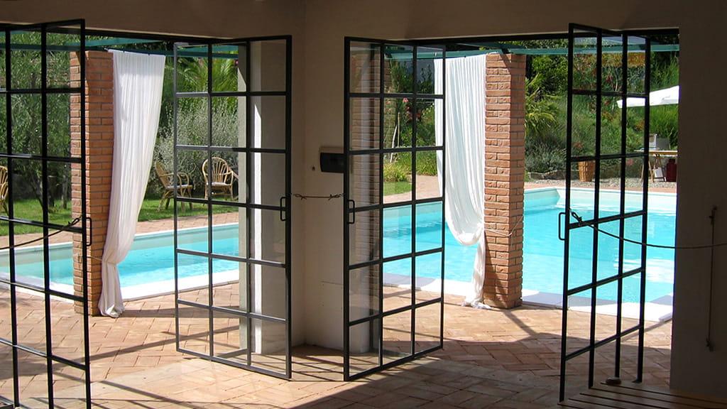 Villa Castellaccia Pool Haus