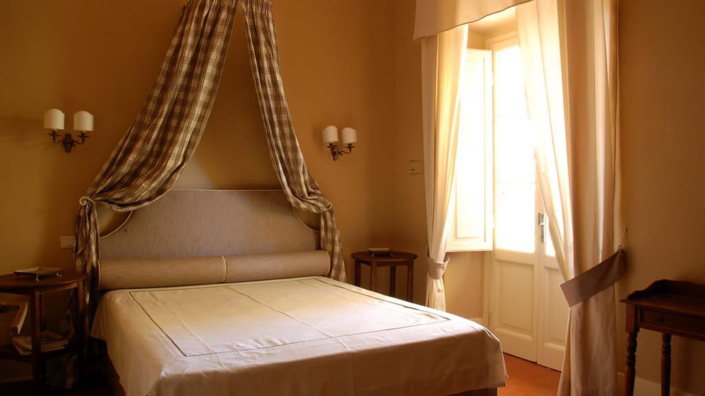 Villa Castellaccia Schlafzimmer