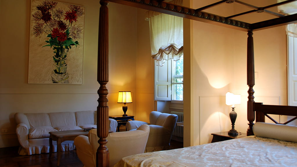 Villa Castellaccia Schlafzimmer2