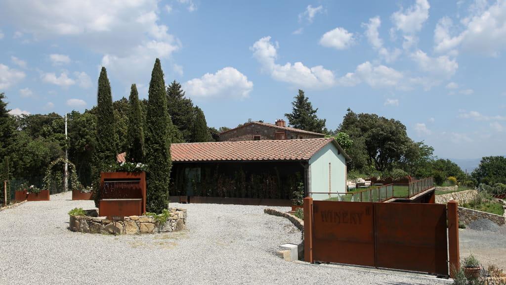 Villa Cerbaina Außenbereich