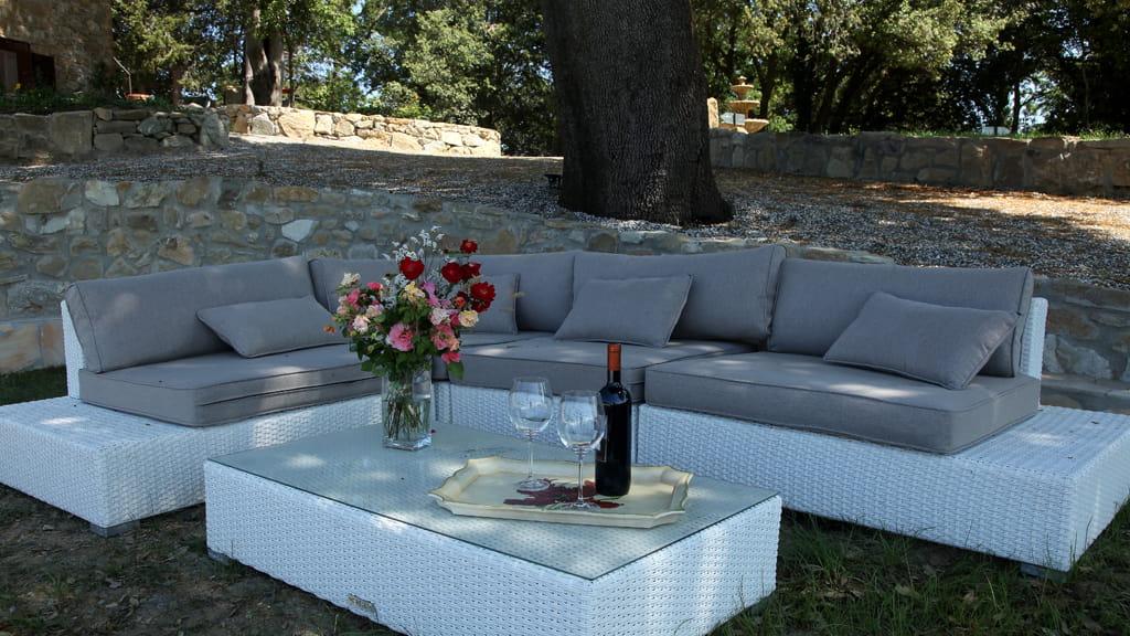 Villa Bei Pisa Lounge Ecke
