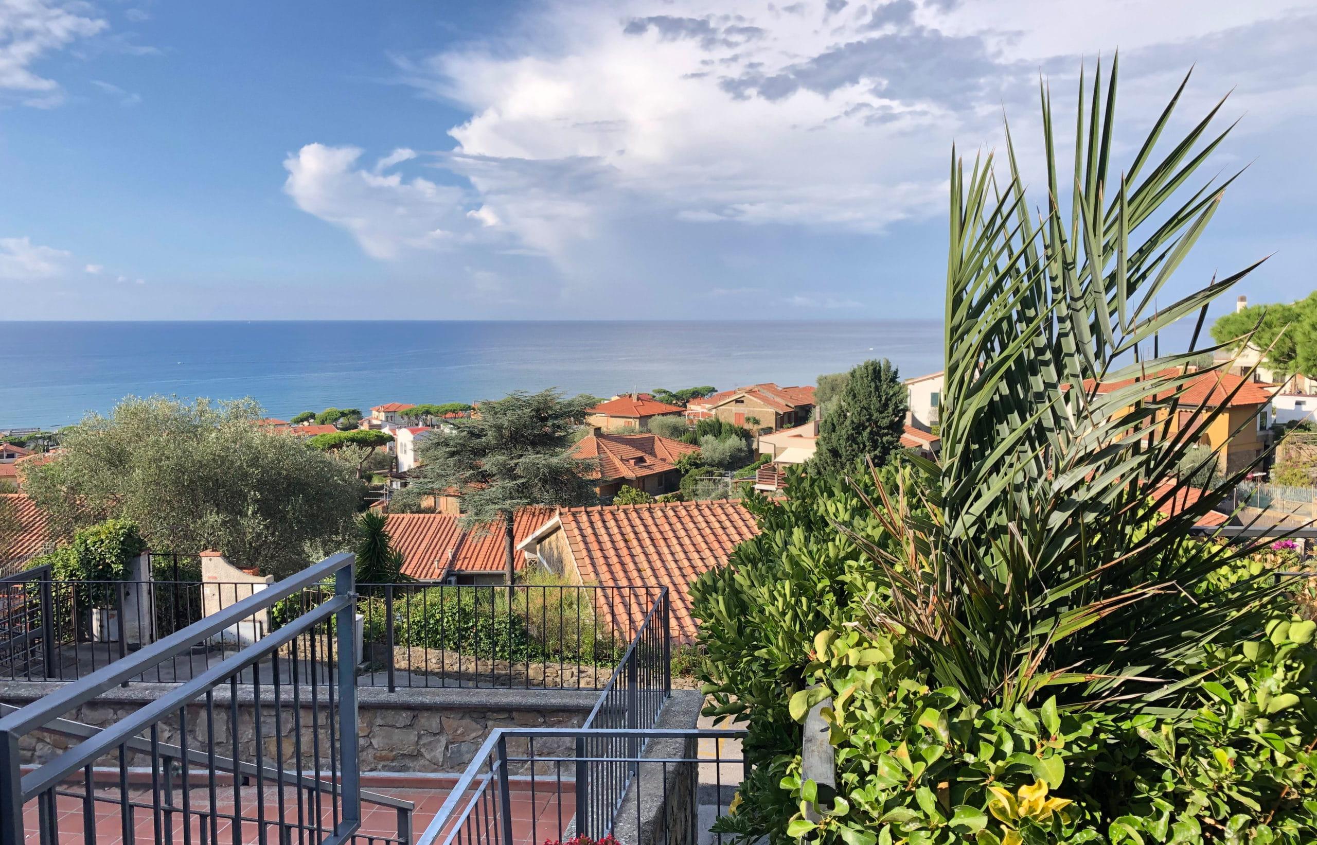Ferienwohnung Toskana mit Meerblick