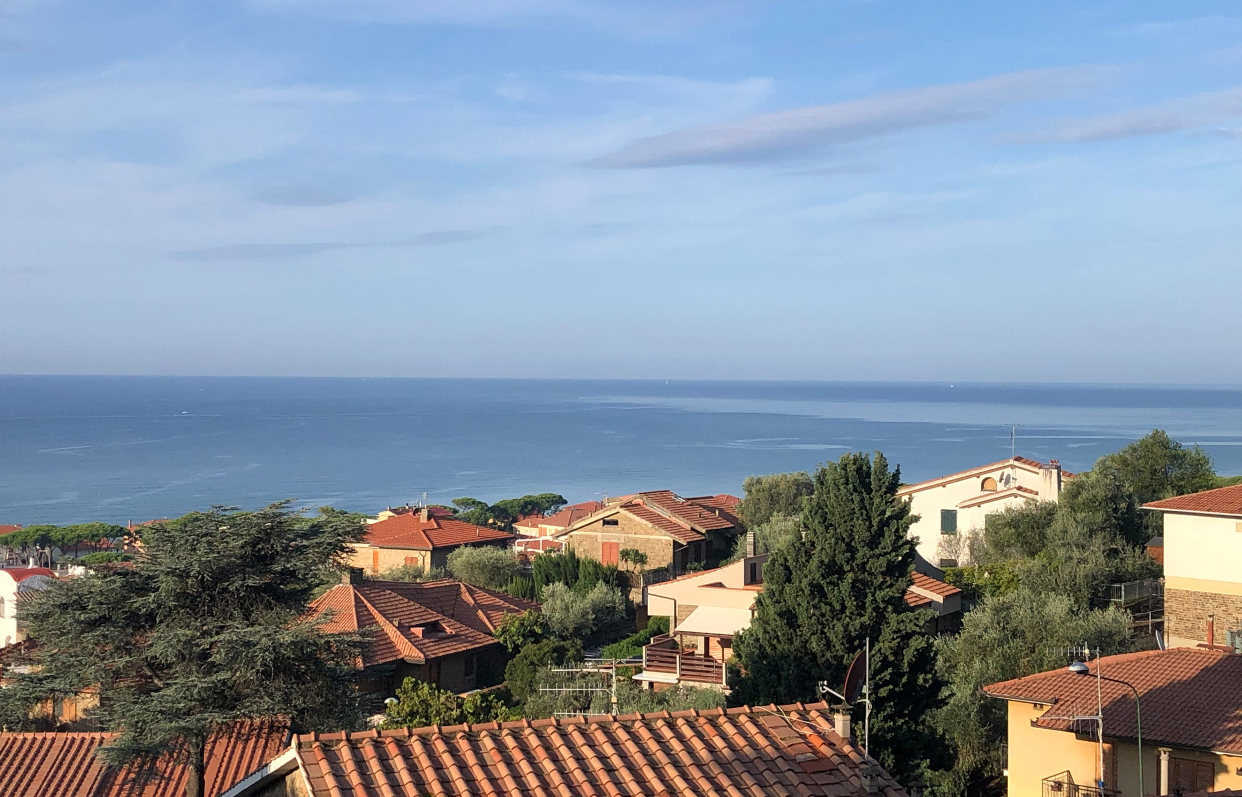Ferienwohnung mit Meerblick Castiglione