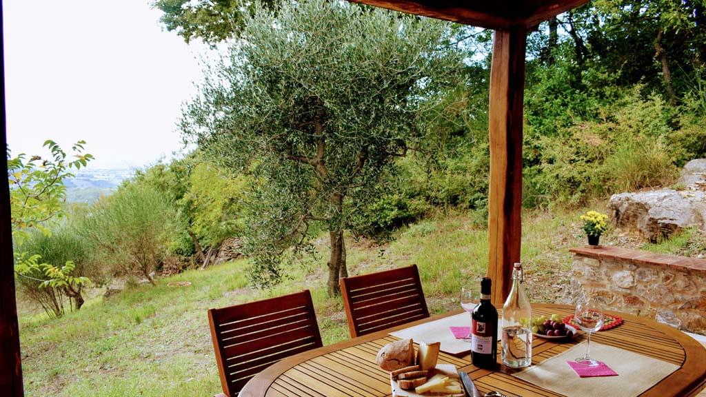Ferienhaus Giulia Terrasse