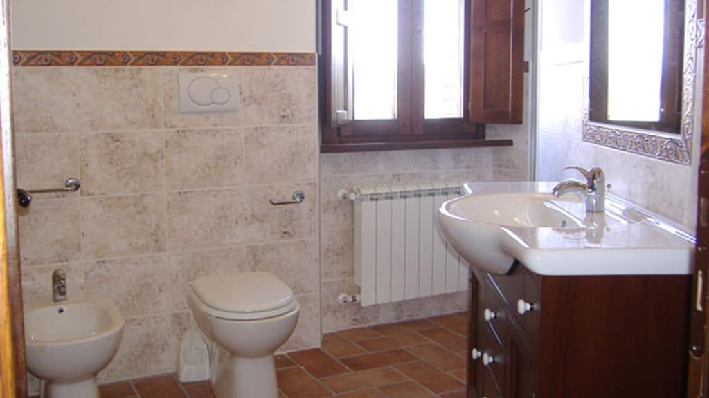 Ferienhaus Podere San Stefano Badezimmer