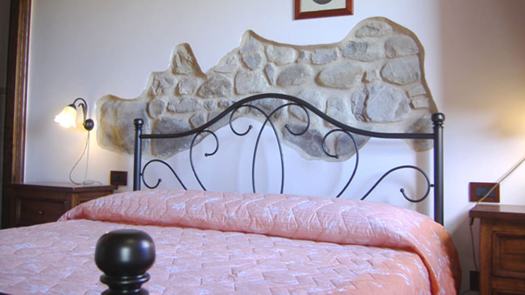 Ferienhaus Podere San Stefano Ciclamino Schlafzimmer