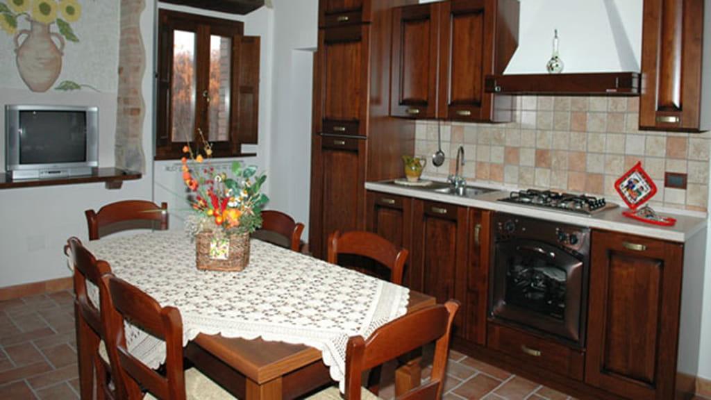 Ferienhaus Podere San Stefano Estate Kueche