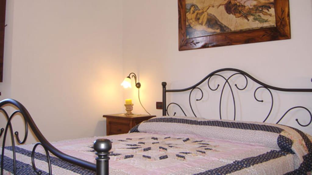 Ferienhaus Podere San Stefano Estate Schlafzimmer