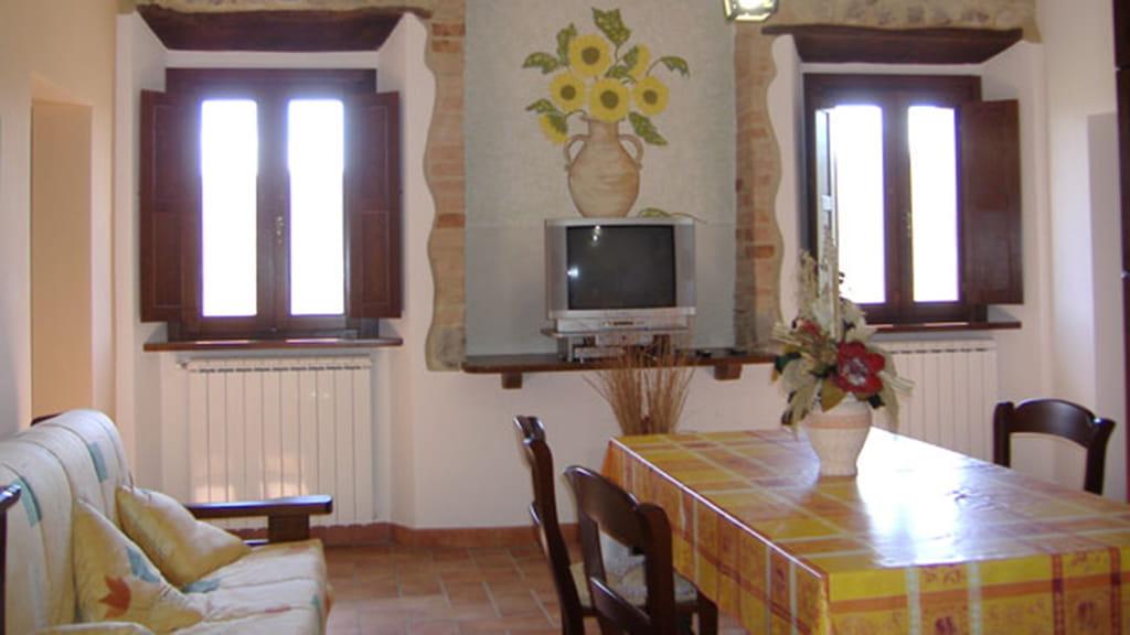 Ferienhaus Podere San Stefano Estate Wohnzimmer