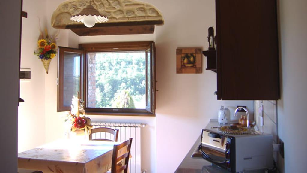 Ferienhaus Podere San Stefano Iris Kueche