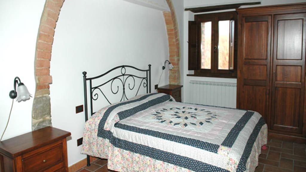 Ferienhaus Podere San Stefano Iris Schlafzimmer