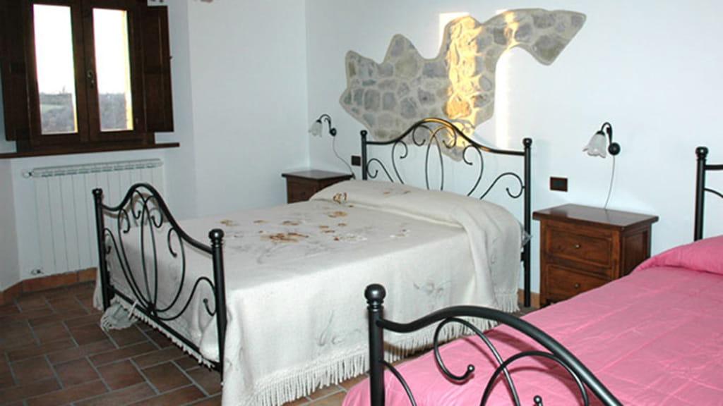 Ferienhaus Podere San Stefano Papavero Schlafzimmer