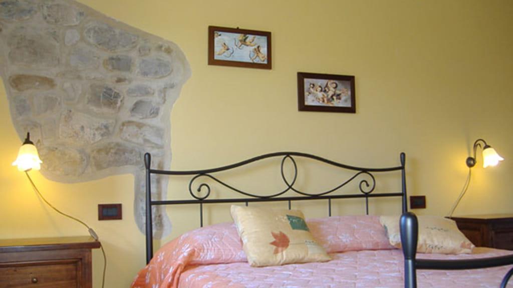 Ferienhaus Podere San Stefano Primavera Schlafzimmer
