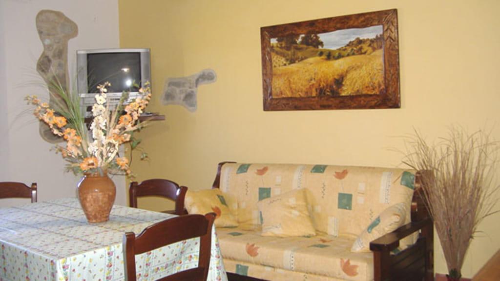 Ferienhaus Podere San Stefano Primavera Wohnbereich