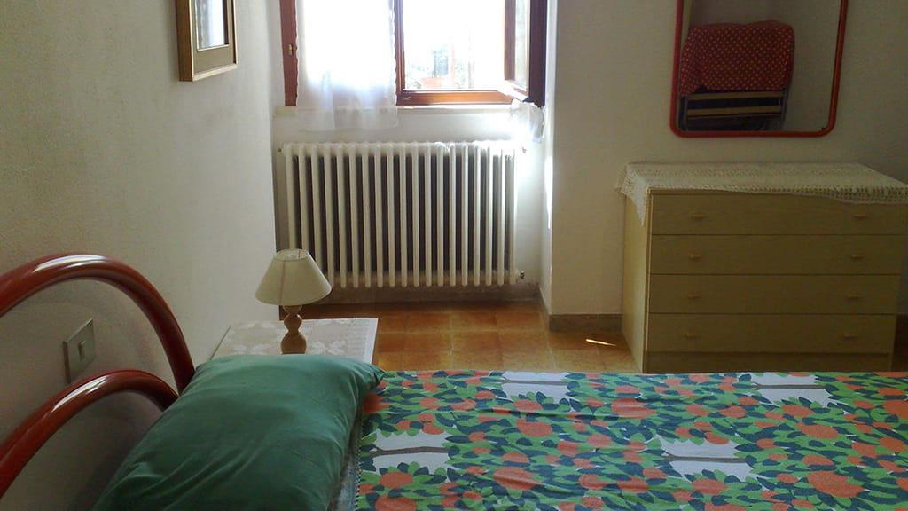 Ferienwohnung Mimosa Schlafzimmer