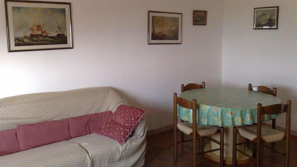 Ferienwohnung Mimosa Wohnbereich