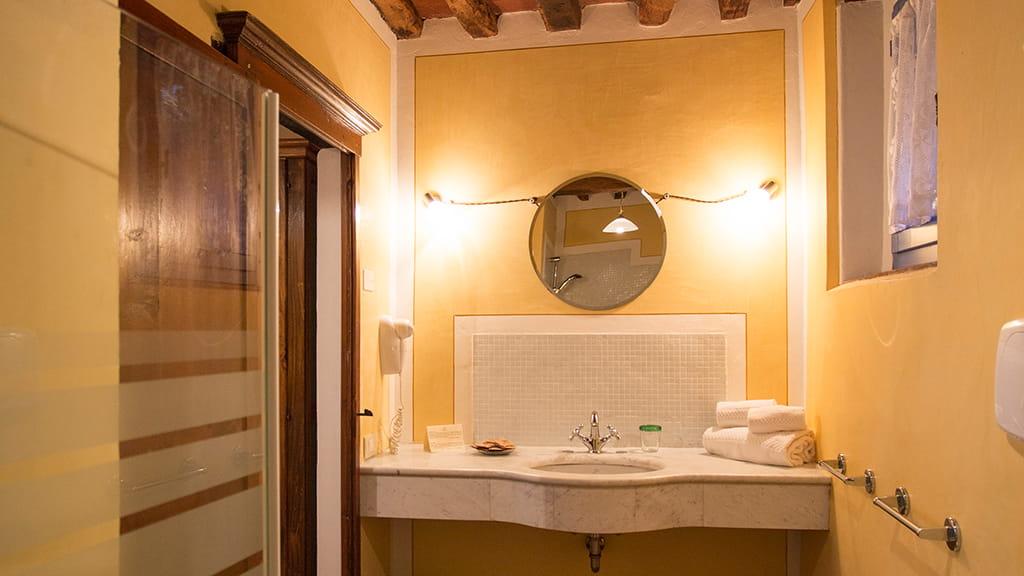 Ferienwohnung Palazzina Uno Badezimmer