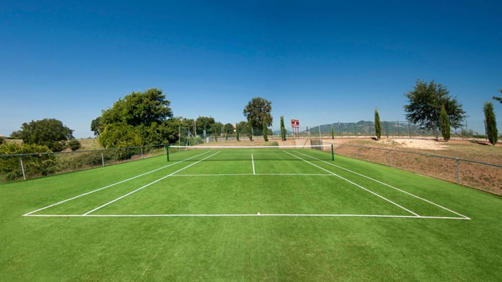 Ferienwohnung Toskana Tennisplatz