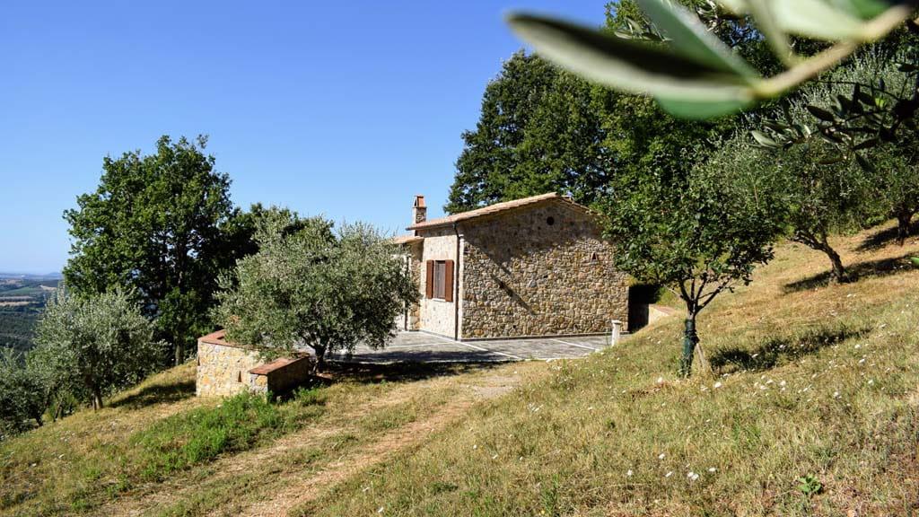 Steinhaus Alleinlage Toskana