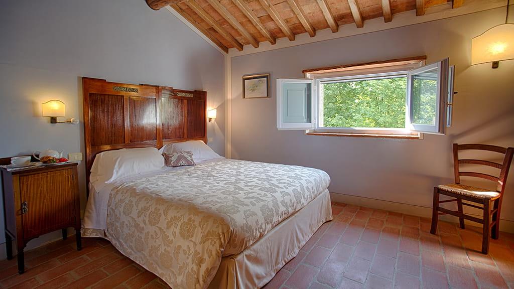 Villa Capanna Schlafzimmer