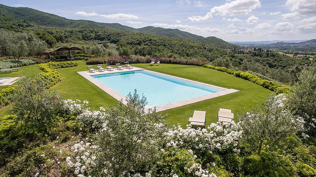 Villa Castiglion Fiorentino Mit Pool